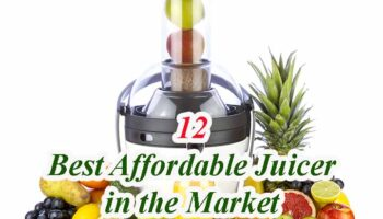 Best Affordable Juicers – Top 12 Our Reviews 2021