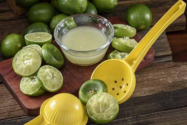 Make lime juice