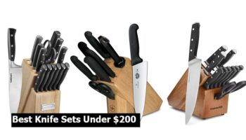 Top 6 Best Knife Sets Under $200 To Buy 2021